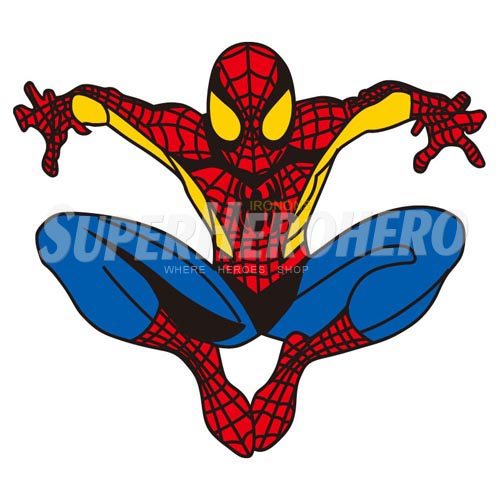 Designs Spiderman Iron on Transfers (Wall & Car Stickers) No.4596